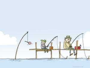 Pescar, no era nuestro fuerte.