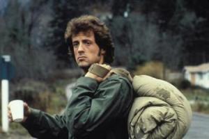 En la primera película... Rambo sólo quería comer.